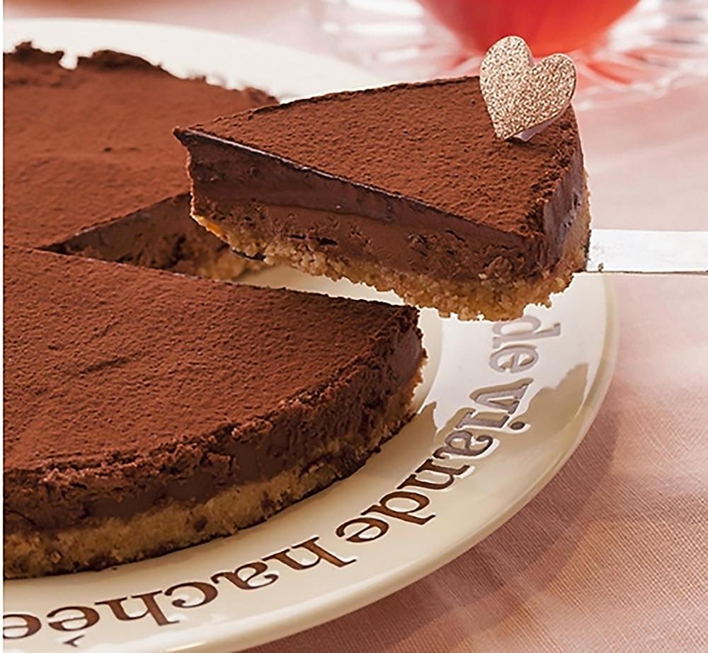 チョコ ケーキ 簡単 生